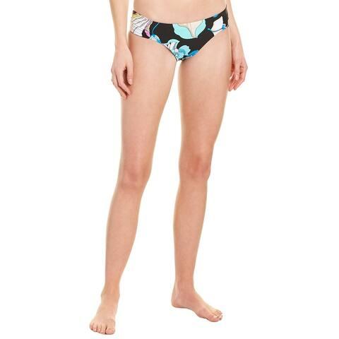 Trina Turk Sintra Flora Shirred Bikini Bottom
