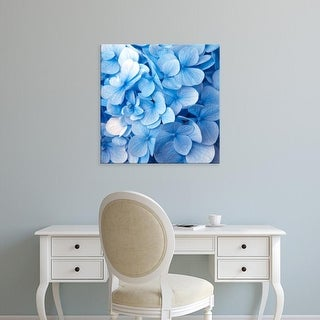 Easy Art Prints PhotoINC Studio's 'Blue Flowers' Premium Canvas Art
