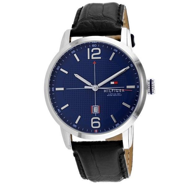ab3cf9de0b66c Tommy Hilfiger Men's George 1791216 Blue Dial Watch