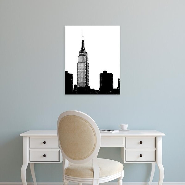 Easy Art Prints Jeff Pica's 'NYC Skyline I' Premium Canvas Art