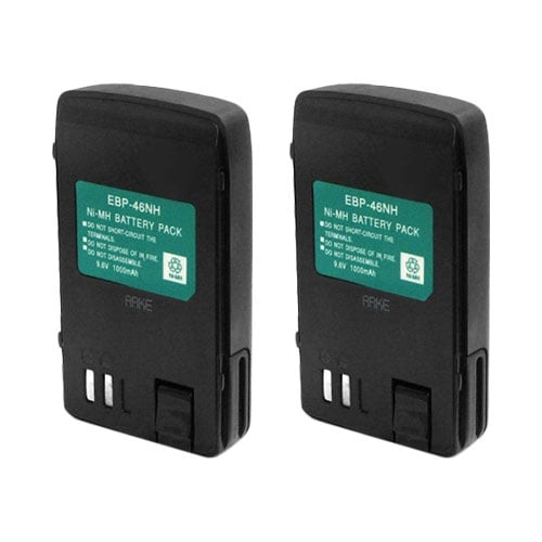 Battery for Alinco EBP46 (2-Pack) Replacement Battery