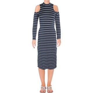 Splendid Womens Casual Dress Striped French Terry