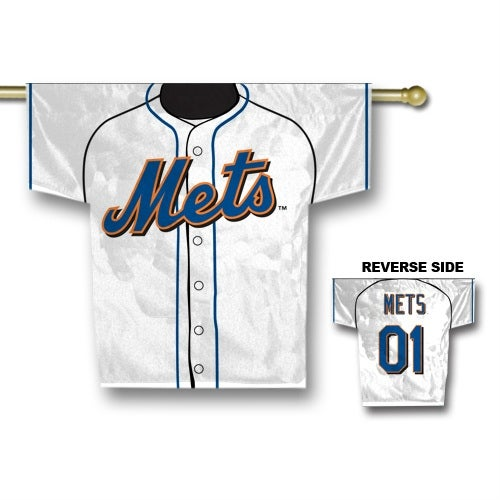 Fremont Die Inc New York Mets Jersey Banner - 2-Sided Two Sided Jersey Banner