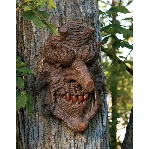 Design Toscano Poison Oak Greenman Tree Sculpture