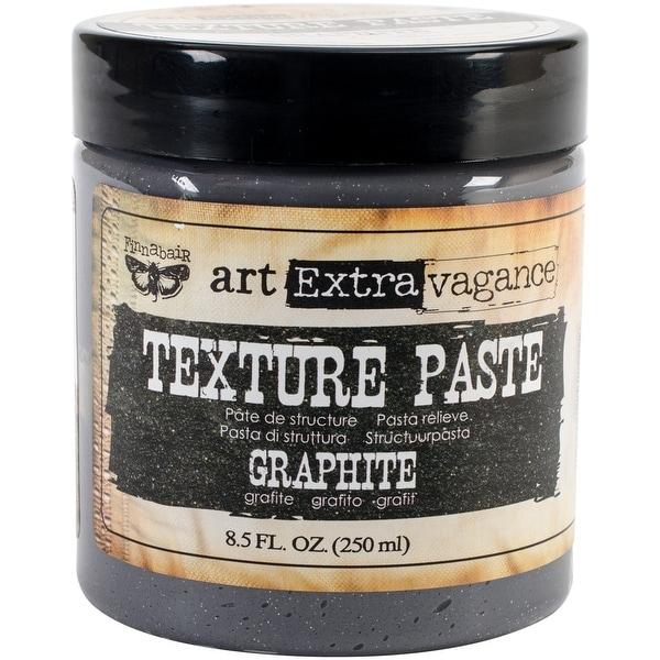 Finnabair Art Extravagance Texture Paste 8.5oz-Graphite