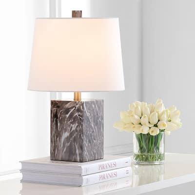 """SAFAVIEH Lighting 20-inch Brett LED Table Lamp - 13""""x13""""x20"""""""
