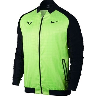 Nike NEW Green Colorblocked Mens Size Small S Rafa Nadal Tennis Jacket