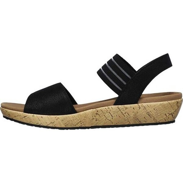 Ankle Sandal Brie Black Shop Lo'profile Skechers On Women's Strap BrCoxdeW