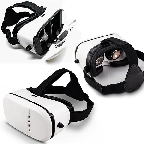"Indigi® VR6 3D VR Virtual Reality Glasses for Android or iOS phones 4.5"" to 6.0"" Compatible"