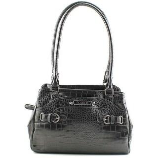 Rosetti Multiplex Farrah Satchel Women Leather Satchel - Black