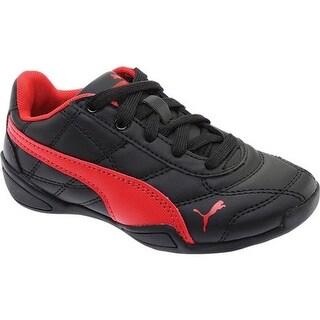 PUMA Boys' Tune Cat 3 Jr Sneaker PUMA Black/Ribbon Red