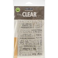 """Hero Arts Clear Stamps 4""""X6""""-To Seize Or Not To Seize"""