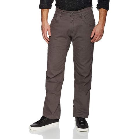Mountain Khakis Mens Pants Gray Size 35X30 Classic Fit Cargo Stretch