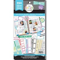 Happy Planner Sticker Value Pack-Colorful Boxes, 594/Pkg