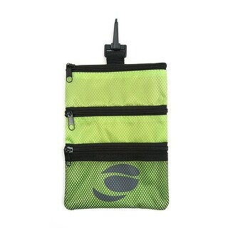 Orlimar Golf Detachable Accessory Pouch, Lime Green