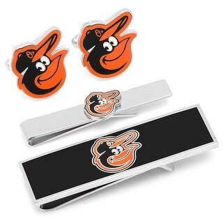 Baltimore Orioles 3-Piece Gift Set - Orange