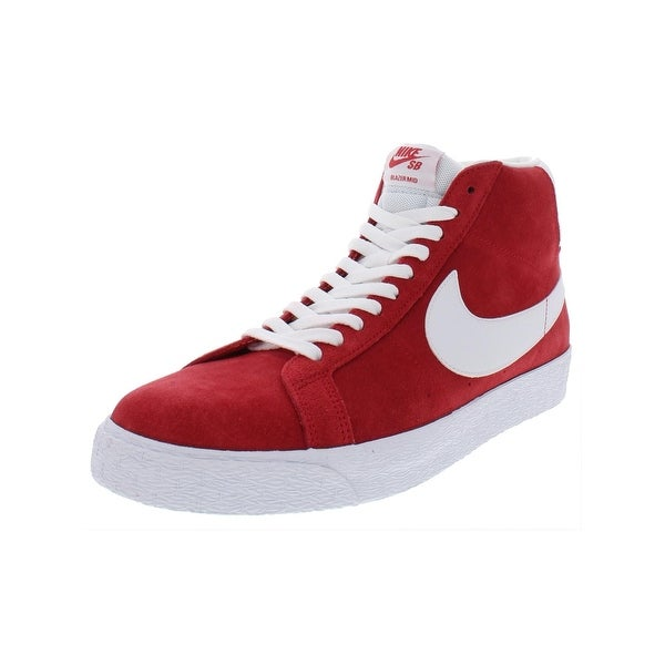 new concept d9d23 738da Nike Mens SB Zoom Blazer Mid Skateboarding Shoes Suede Mid Top