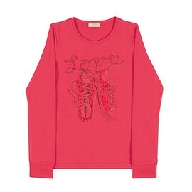 Tween Girls Long Sleeve T-Shirt Teen Graphic Tee Pulla Bulla Sizes 10-16 Years