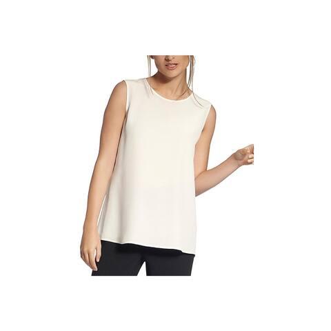 Basler Womens Shell Silk Shirt - Ivory