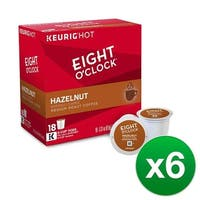 Shop Eight O'Clock Coffee Hazelnut K-Cups for Keurig Brewers - Free Shipping On Orders Over $45 ...