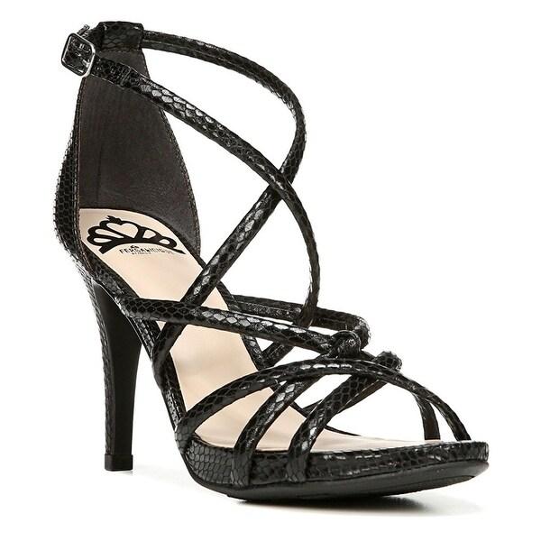 Fergalicious Womens HANNAH Open Toe Ankle Strap D-orsay Pumps