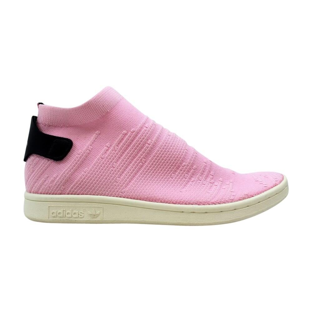 new styles 15e59 e1432 Adidas Women's Stan Smith Shock Primeknit Pink/Footwear White-Gold  Metallic-Black BY9250 Size 8