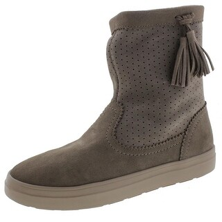 Crocs Womens Lodgepoint Ankle Boots Suede Casual - 7 medium (b,m)