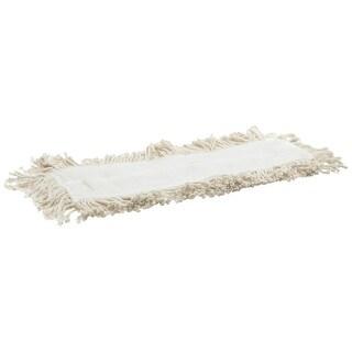 "Rubbermaid L253 Dust Mop Refill, 24"" x 5"", Cotton"