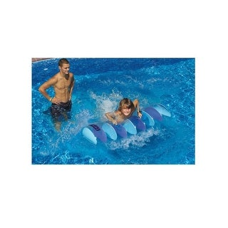 "45"" Water Sports Inflatable Wingz Dive Board Swimming Pool Float Toy - Purple"