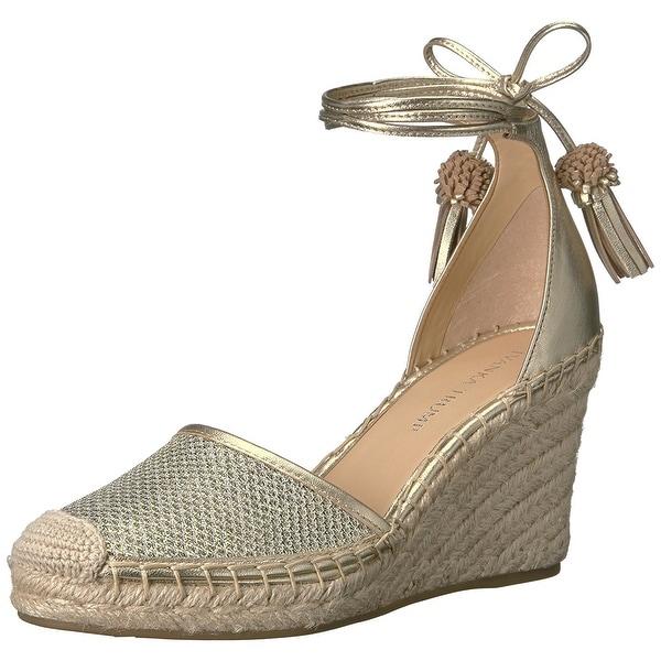 Ivanka Trump Womens Wadia4 Leather Closed Toe Casual Platform Sandals