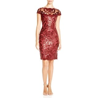 Tadashi Shoji Womens Cocktail Dress Lace Sequined|https://ak1.ostkcdn.com/images/products/is/images/direct/d372e535cc35d4f300493fb27c7f1fad7549d3f9/Tadashi-Shoji-Womens-Cocktail-Dress-Lace-Sequined.jpg?impolicy=medium