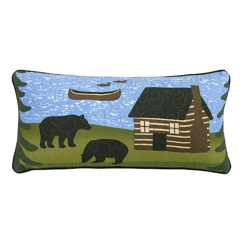Donna Sharp Bear River Rectangle Decorative Pillow