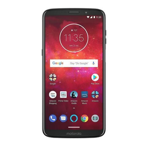 Motorola Z3 Play 64GB Unlocked (AT&T/Sprint/T-Mobile/Verizon) - Deep Indigo