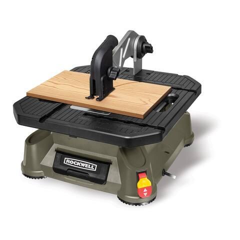 Rockwell RK7323 BladeRunner X2 Portable Tabletop Saw, 2800 SPM, 5.5 Amp