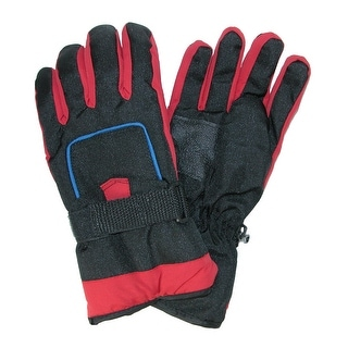 CTM® Kids' 8-18 Ski Gloves with Pocket - One Size