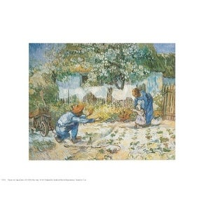 ''First Steps'' by Vincent van Gogh Museum Art Print (11 x 14 in.)