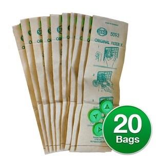 Sebo X/C/370 Filter box Genuine Vacuum Bags - 2 Pack