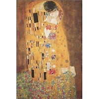 ''The Kiss'' by Gustav Klimt Museum Art Print (36 x 24 in.)