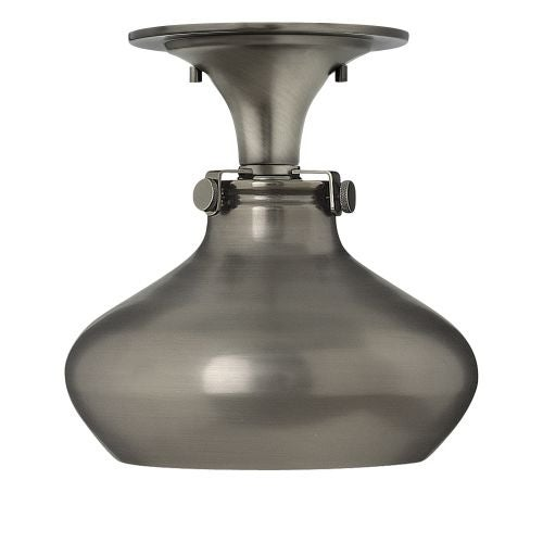 Hinkley Lighting 3148 1 Light Indoor Semi-Flush Ceiling Fixture with Dome Shade from the Congress Collection