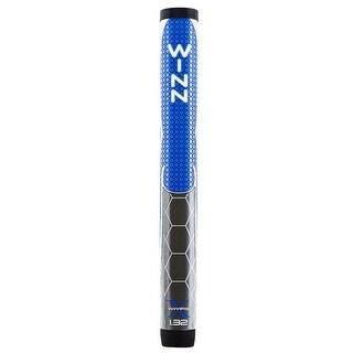 """Winn Pro X 1.32"""" Blue/Gray Putter Golf Grip"""