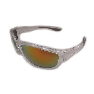 West Coast Unisex-Adult Spt Mirrored Sunglasses (Option: Orange)
