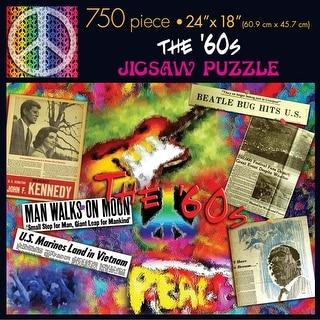60s 750 Piece Puzzle