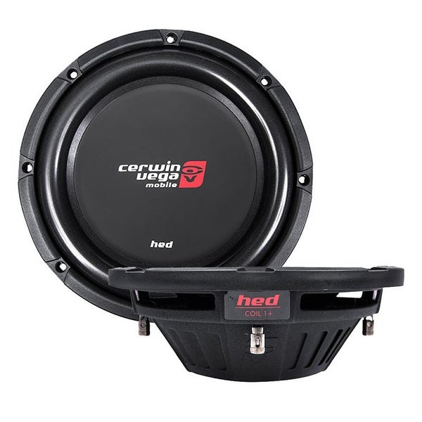 "Cerwin Vega HED Mobile 500W MAX 12"" DVC 2ohm / 250W RMS"