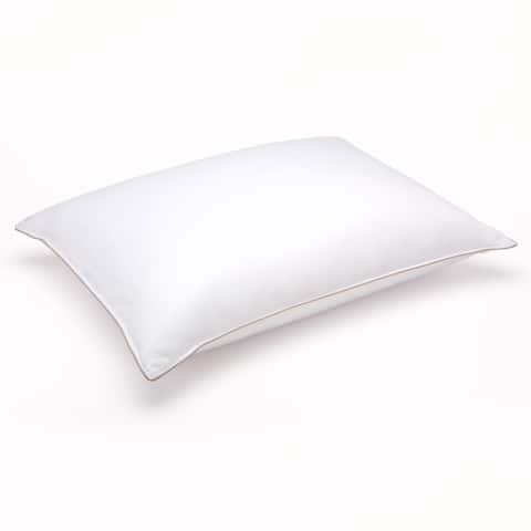 Soft White Goose Down Hypoallergenic Stomach Sleeper Pillow