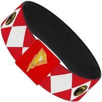 Diamond Red Ranger Elastic Bracelet