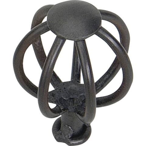 "Atlas Homewares 30065 Twisted Wire 1-1/2"" Diameter Birdcage Cabinet Knob - Iron"