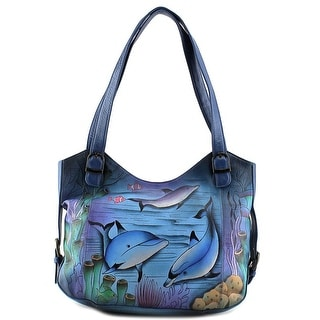 Anuschka 7212 Women Leather Shoulder Bag - Multi-Color