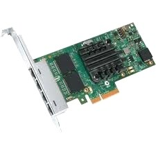 """Intel I350F4BLK Intel Ethernet Server Adapter I350-F4 - PCI Express x4 - 4 Port - 1000Base-SX - Internal - Full-height,"