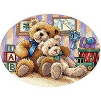"""Gold Collection Petite Warm & Fuzzy Counted Cross Stitch Kit-7""""X5"""""""