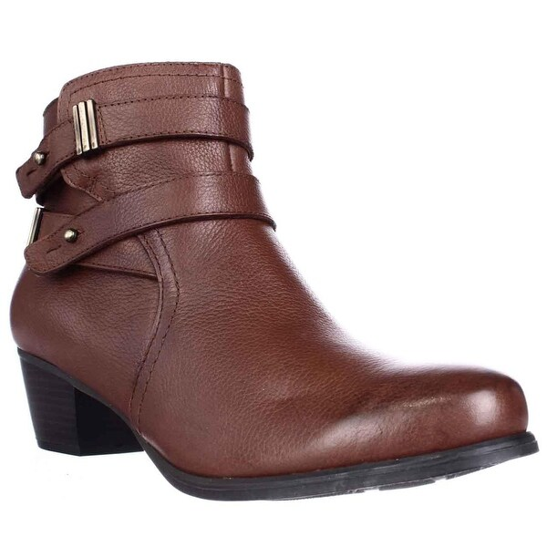 naturalizer Kepler Block Heel Ankle Boots, Banana Bread